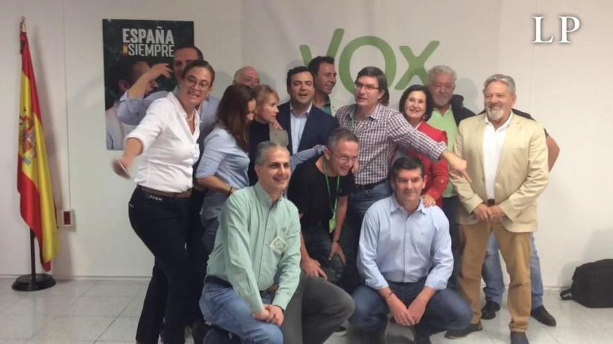 Noche electoral del 10N en Vox en Canarias