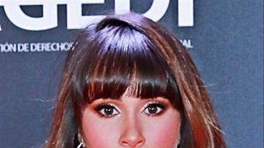 Aitana se estrena como chica Yves Saint Laurent