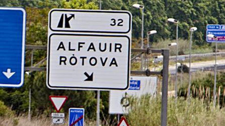 El Consell aprueba definitivamente el topónimo Ròtova en valenciano