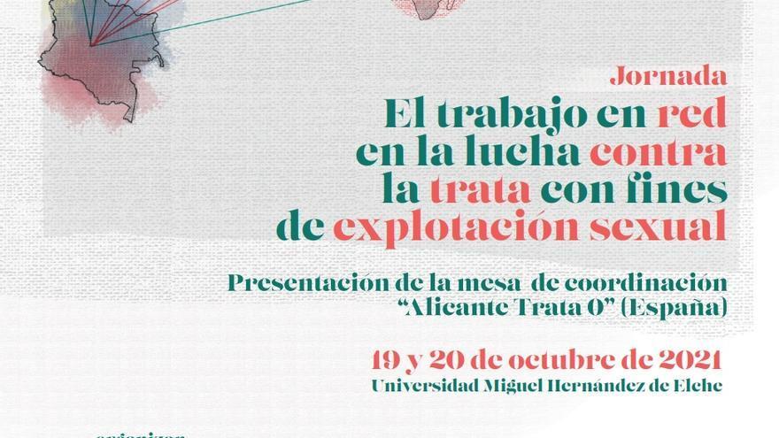 """La UMH acoge la presentación de la Mesa """"Alicante Trata 0"""""""
