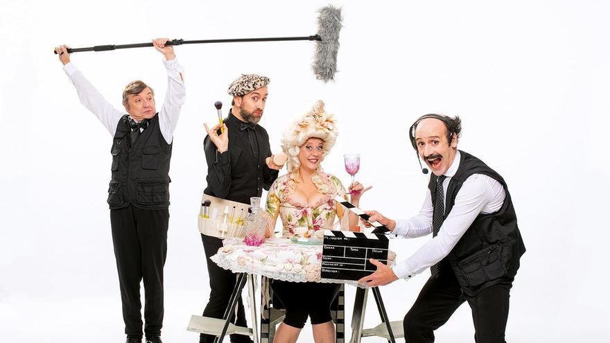 Espectáculo 'Gag Movie' de la compañía Yllana que se podrá ver en el Ciclo de Humor del Teatro Principal.