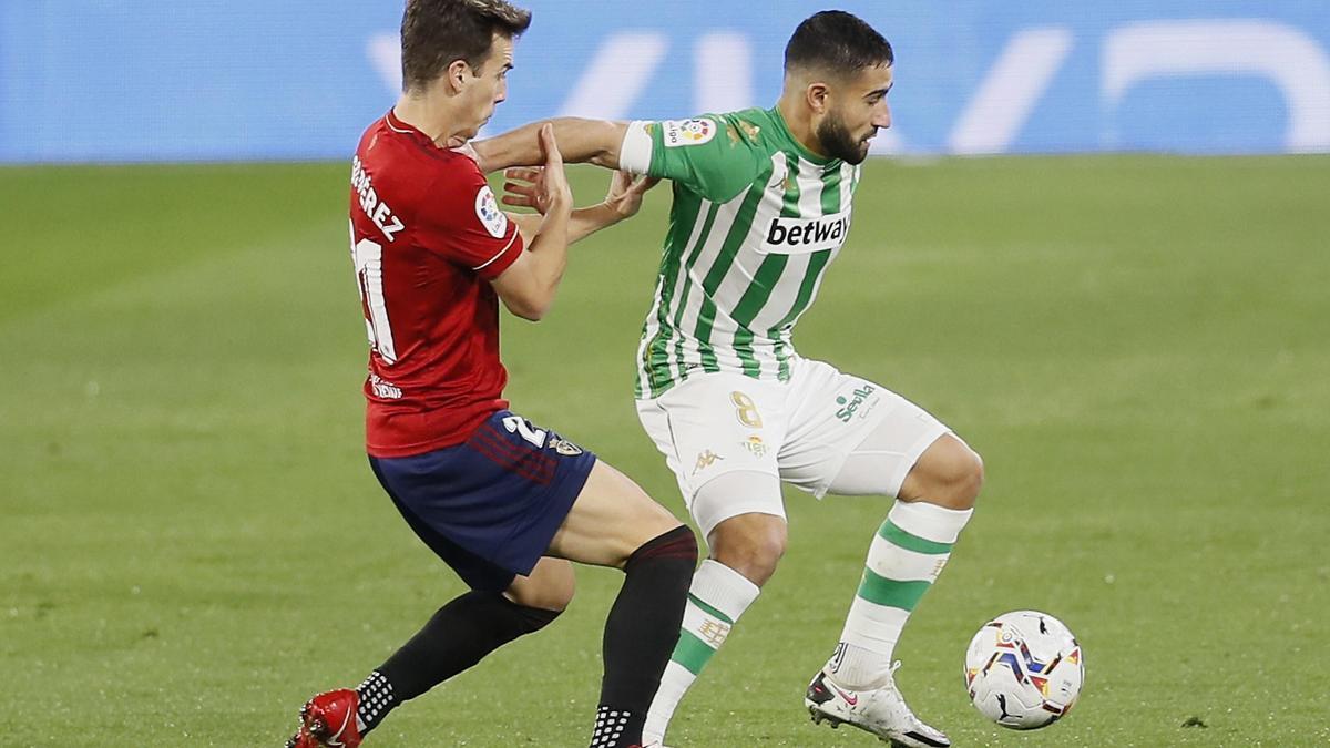 Pulso de ambición entre Osasuna y Betis.