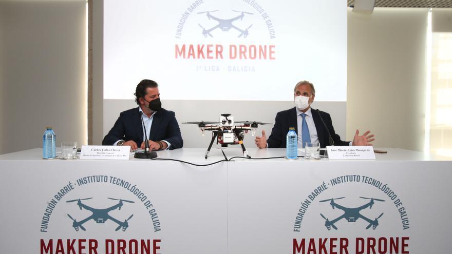 Construir drones para fomentar la tecnología en los estudiantes de Galicia