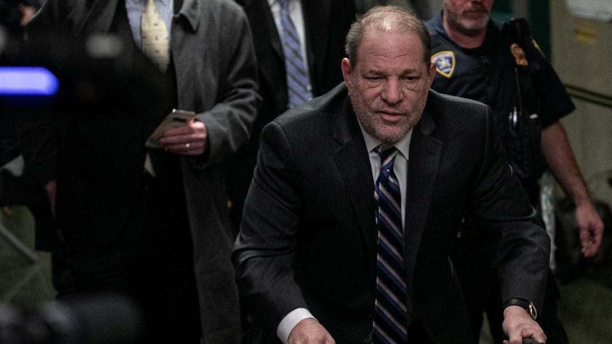 Weinstein cumple una condena de 23 años.