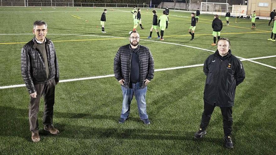 La zona esportiva de Vilamalla creix amb els nous camps de futbol