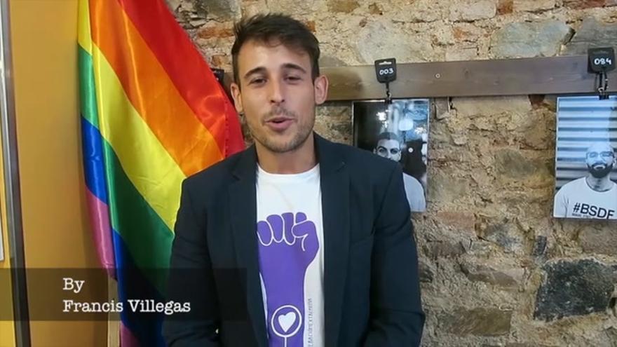David Holguín, concejal LGTBI del Ayuntamiento de Cáceres