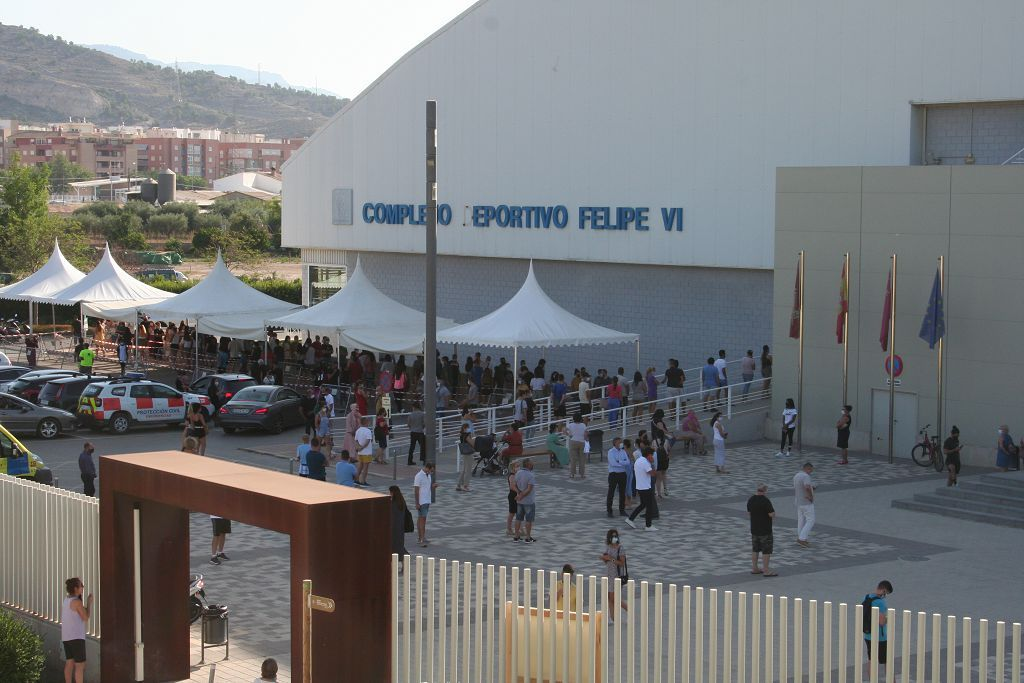 Vacunan a 3.000 jóvenes en Lorca