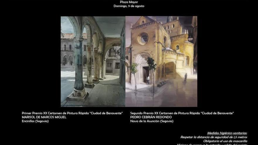 XXI Certamen de Pintura Rápida Ciudad de Benavente