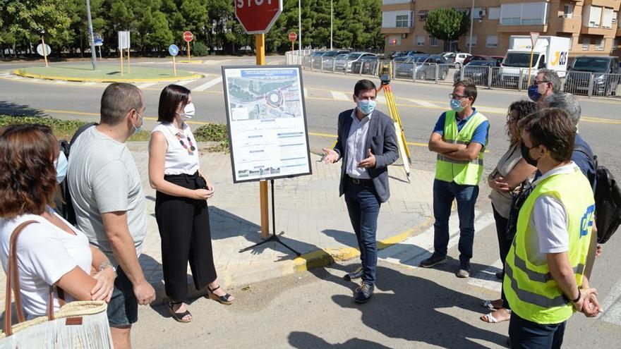 La Diputació inicia las obras de la nueva rotonda de la carretera de Picanya