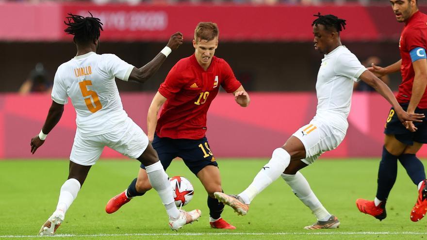 Fútbol, cuartos de final | España - Costa de Marfil, en directo