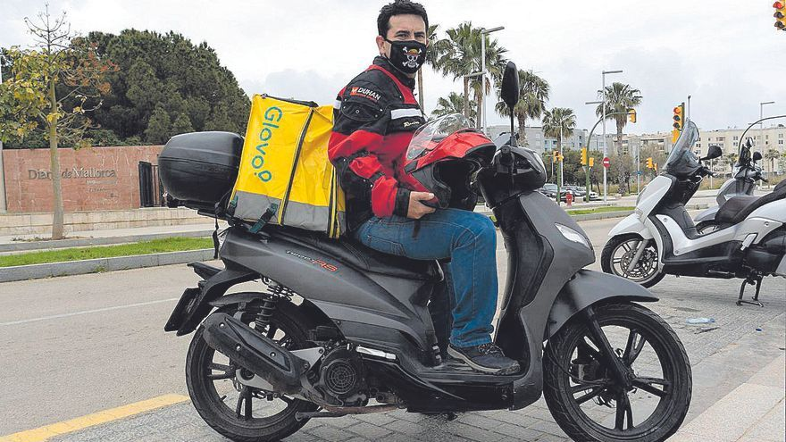 «Los 'riders' hacemos muchas horas para ganar dinero»