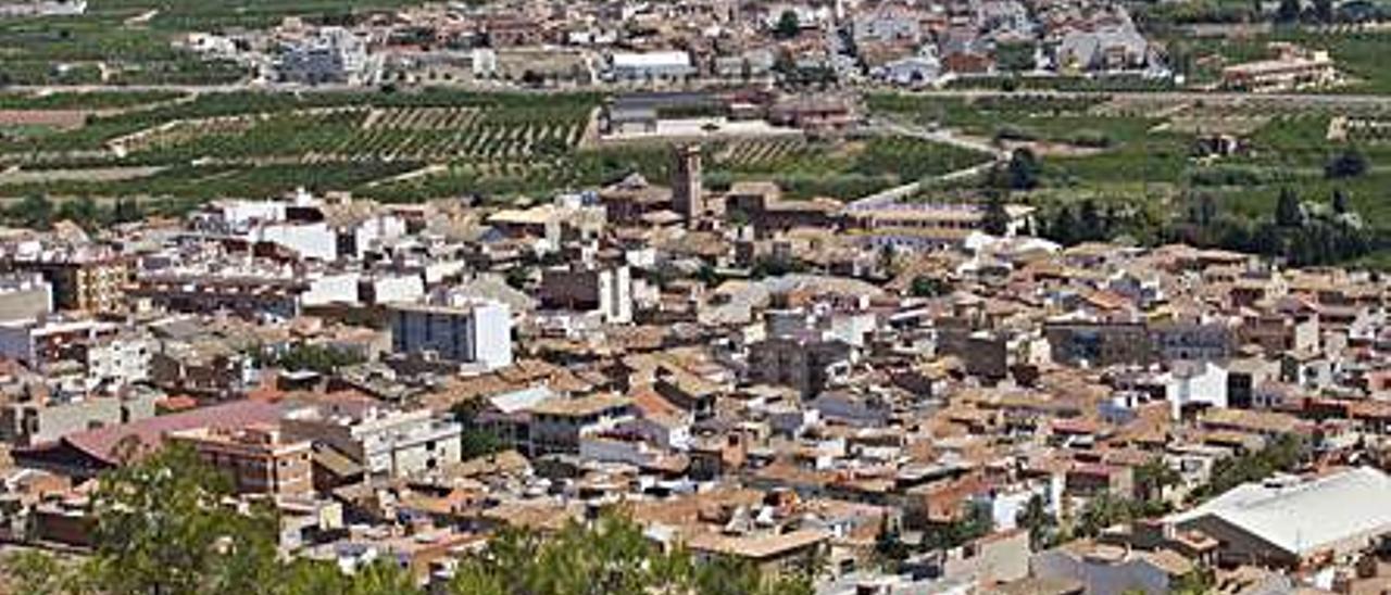 Vista de Faura y Benifairó. | TORTAJADA