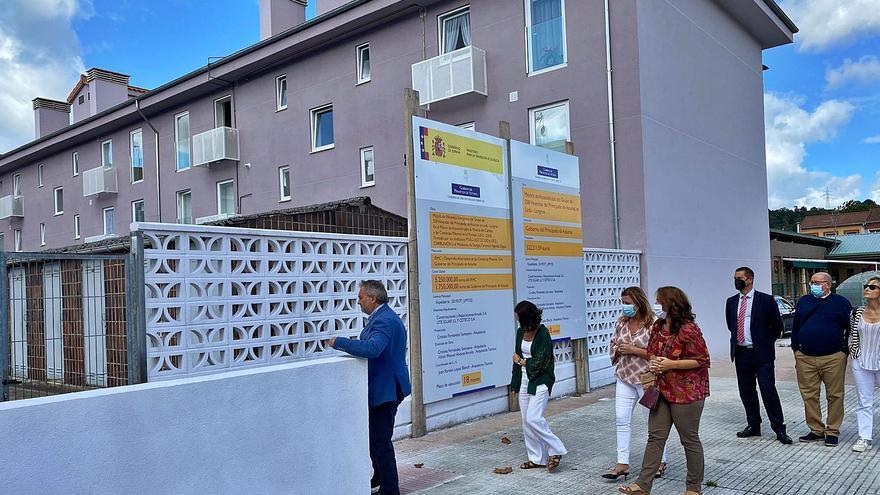 """La reforma de Lada será el """"ejemplo"""" para los edificios públicos de Asturias"""