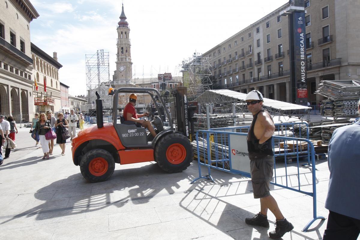 El Pilar y los trabajadores