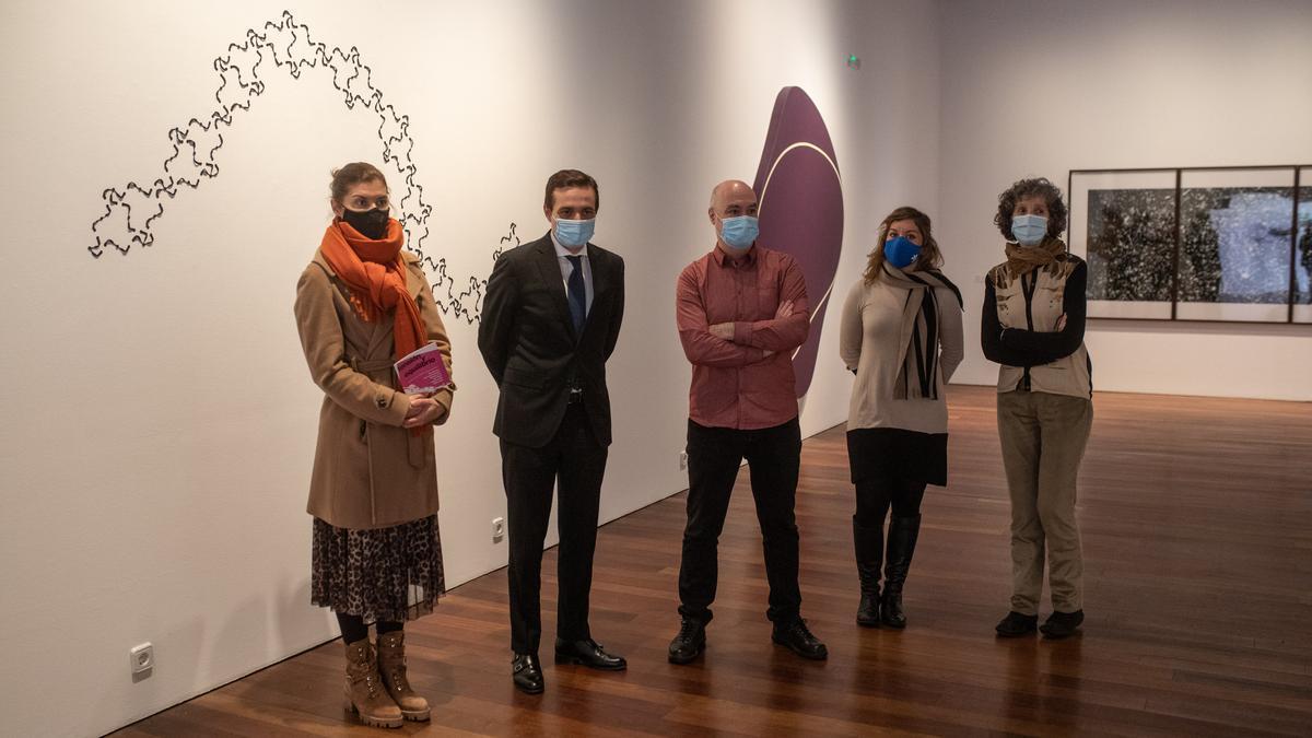 """Inauguración de la exposición """"Tensión y equilibrio"""" en el Museo de Zamora"""