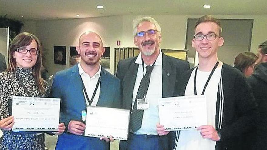 Premian en Stuttgart a dos alumnos del máster en Energías Renovables