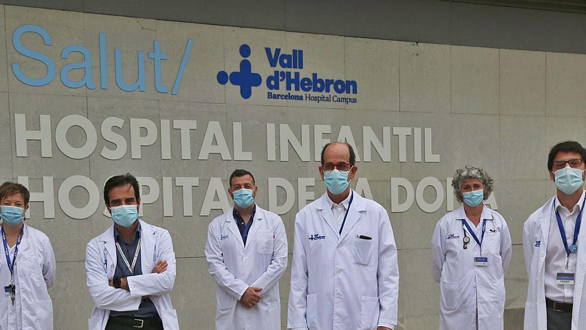 Equip del Servei de Cirurgia Hepatobiliopancreàtica i Trasplantaments del Vall d'Hebron.   EUROPA PRESS