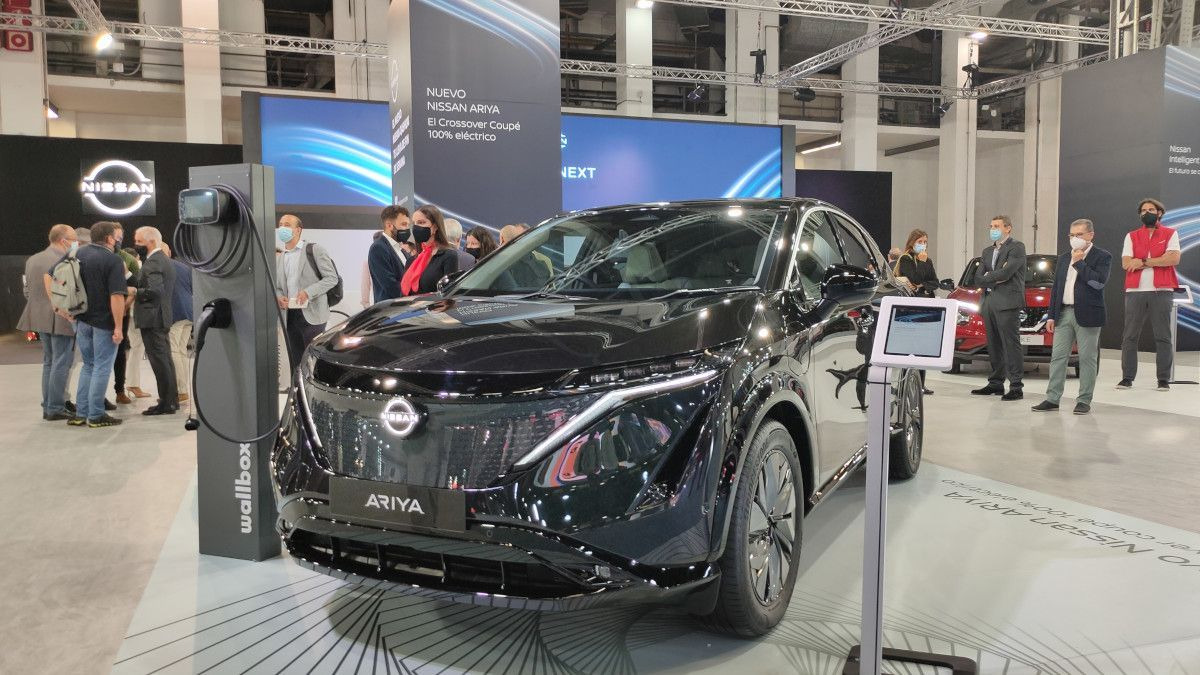 Novedades del Automobile Barcelona 2021: Nissan Ariya