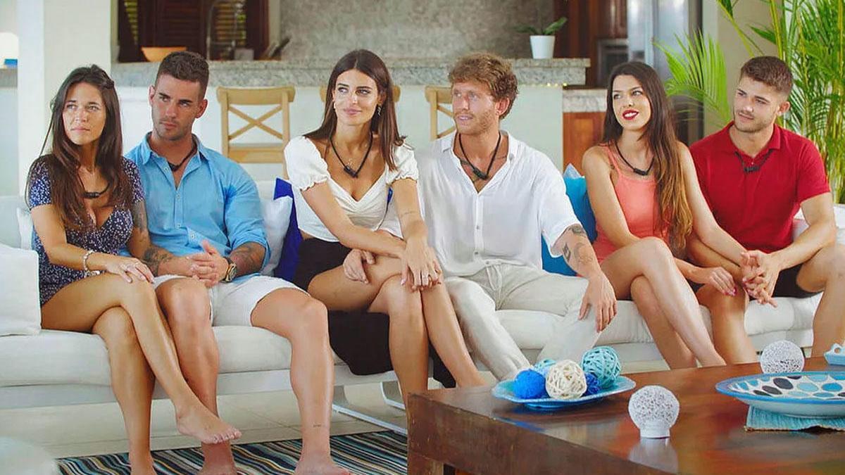 Varias de las parejas de la primera entrega de 'La isla de las tentaciones'.