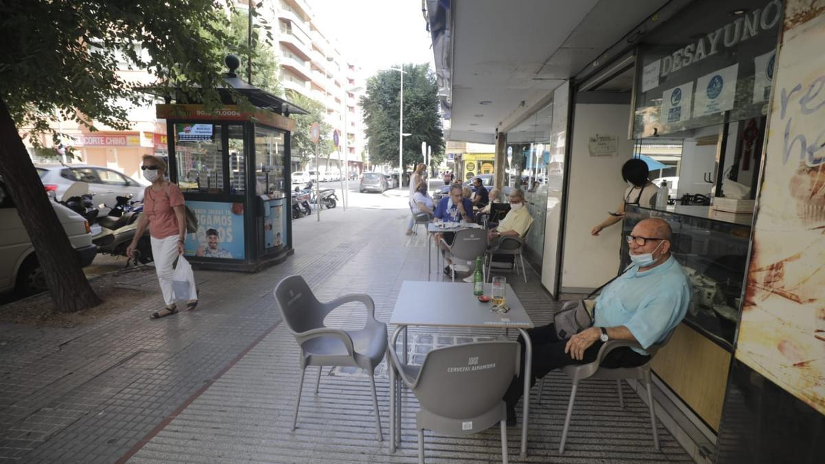 Restricciones en la zona de Arquitecto Bennàssar