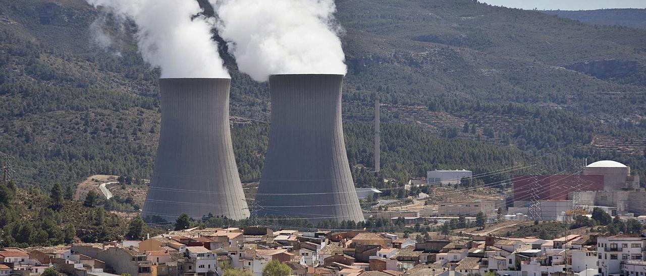 Central nuclear de Cofrentes, que es la principal fuente de energía de la Comunitat Valenciana.