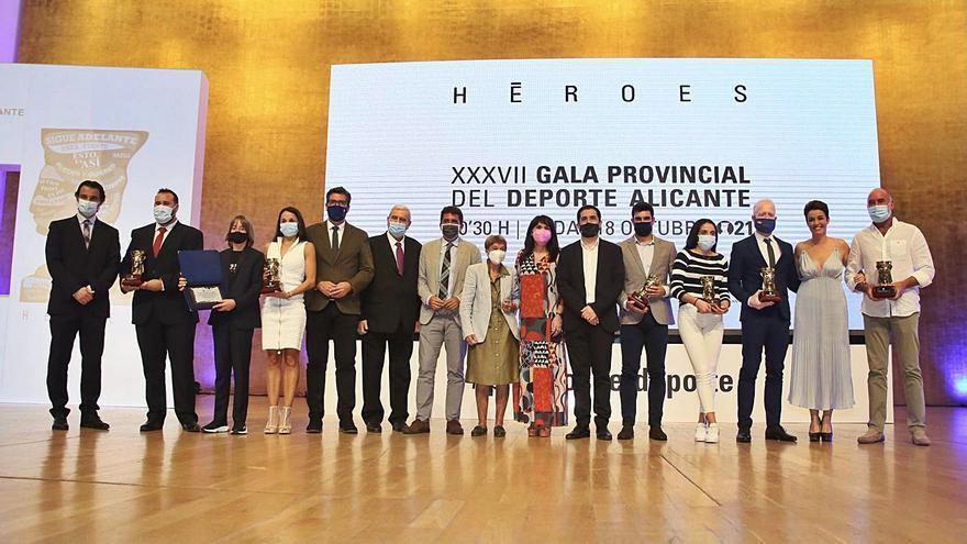 Lara González y Jorge Ureña, mejores deportistas de la provincia en 2019