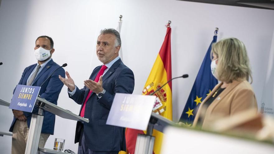 Torres sobre el proceso de vacunación en Canarias (21/04/21)