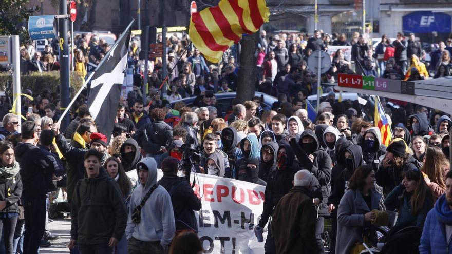 La delegació del Govern català agrupa les marxes matinals