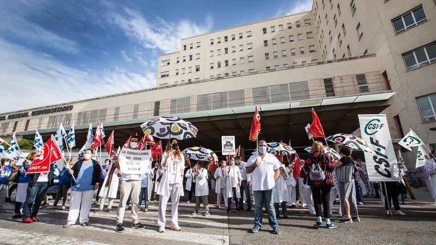 Nuevas protestas para pedir mejoras en Sanidad