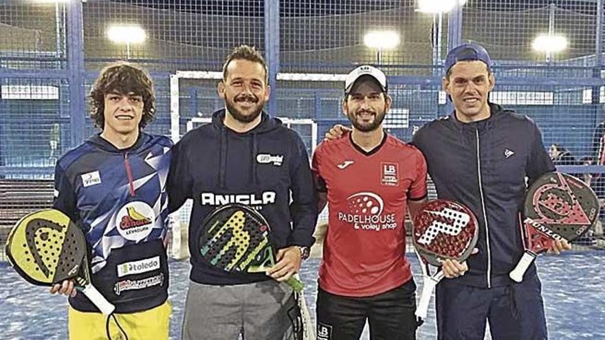 Las parejas Marqués-Pelassini y Cañellas-Brys se adjudican el primer Torneo Propadel Balear