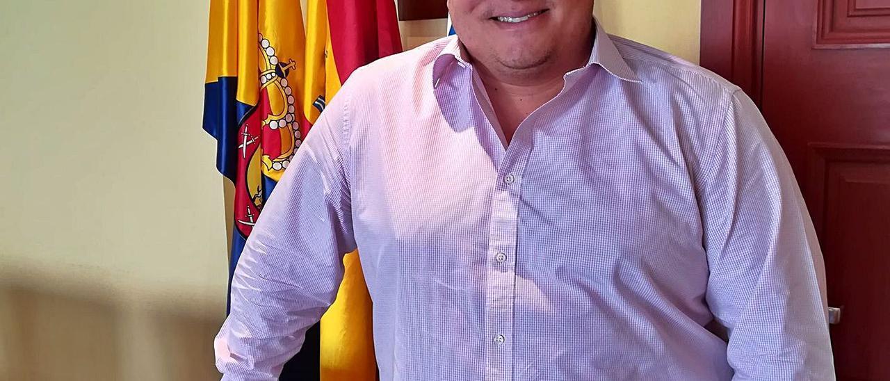 Mencey  Navarro, concejal de Seguridad y Urbanismo del Ayuntamiento de Mogán. | | LP/DLP