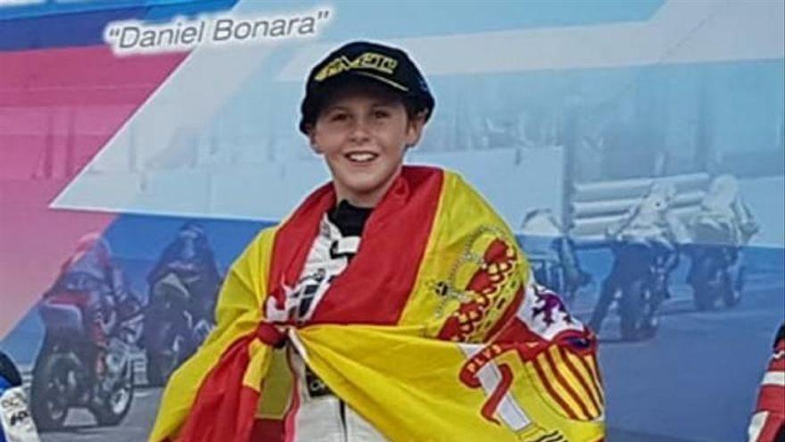 Máximo Martínez correrá la Red Bull Rookies Cup