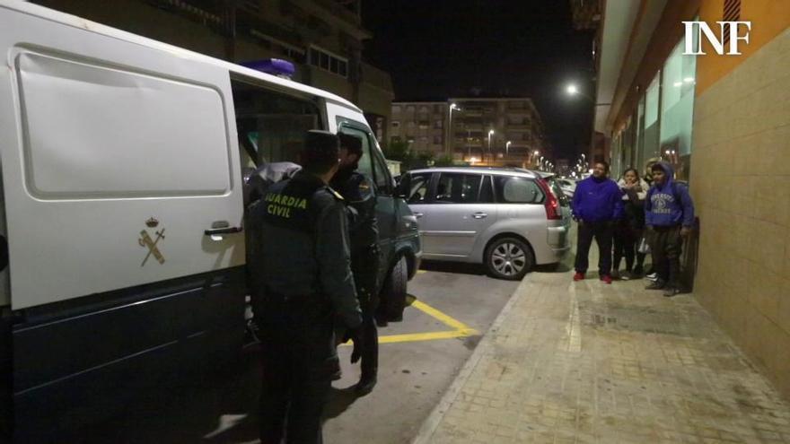 La Guardia Civil investiga si la víctima de la Manada de Callosa fue drogada