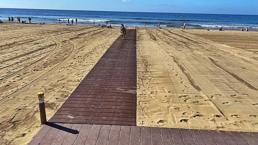 El Plan de Accesibilidad arranca con más pasarelas en las playas del Sur