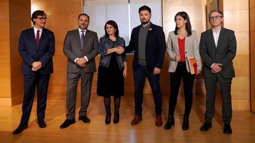Los entresijos de las negociaciones PSOE-ERC