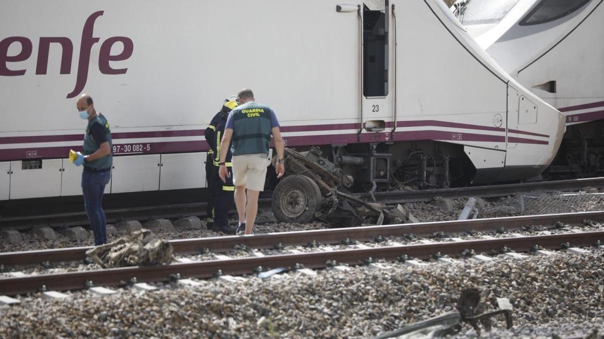 VÍDEO   Vuelve a ver el directo del escenario del accidente ferroviario en La Hiniesta