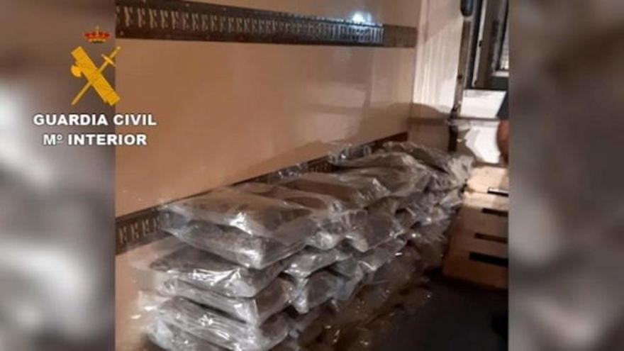 La Guardia Civil desmantela en Andalucía una organización europea de narcotráfico