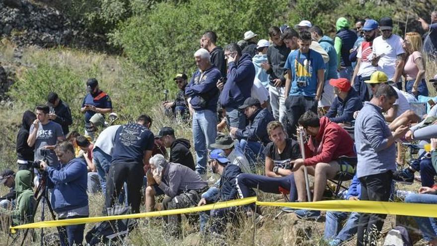 Jornada del jueves del Rally Islas Canarias
