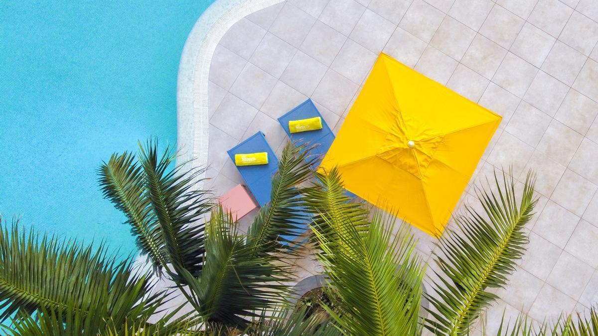 Imagen de la piscina del Hotel Bitácora.