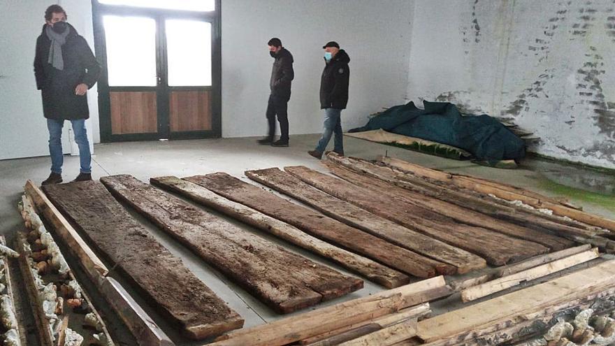 Cadavedo busca financiación para restaurar el hórreo de La Regalina