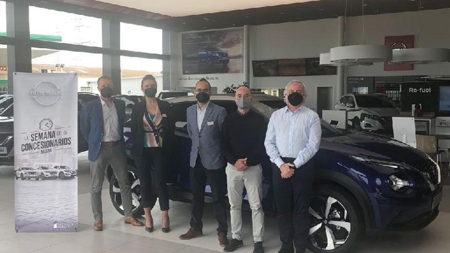 Presentación del nuevo Nissan Qashqai en Satra