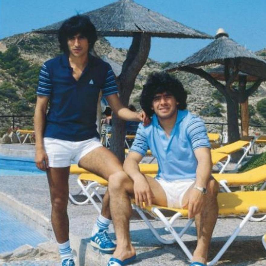 Maradona el hotel Montíboli de Villajoyosa que fue cuartel general de Argentina en el 82.