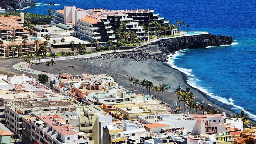 El 55,2% de las camas hoteleras de La Palma permanecen cerradas por la pandemia