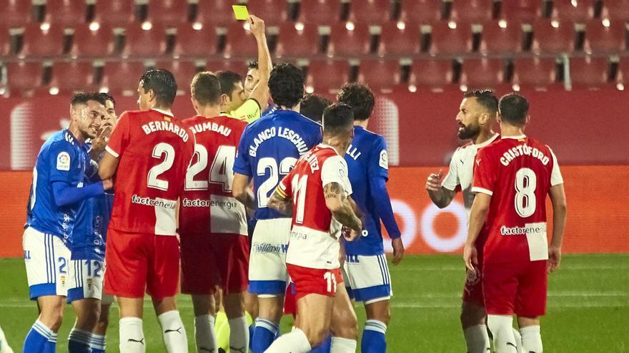 El Oviedo valora enviar un escrito a la Federación por los últimos arbitrajes