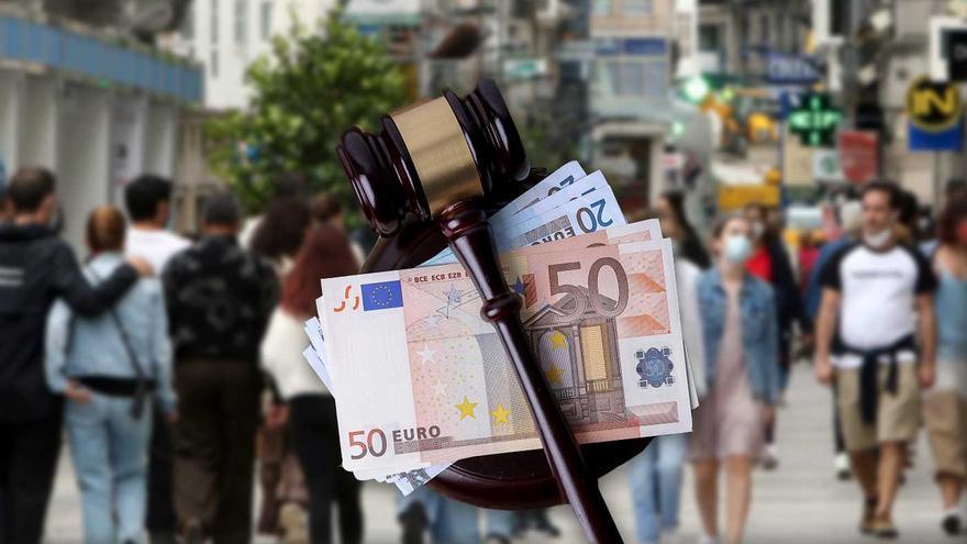 Los litigios para cobrar deudas tras el COVID inundan los juzgados: 21.255 en seis meses