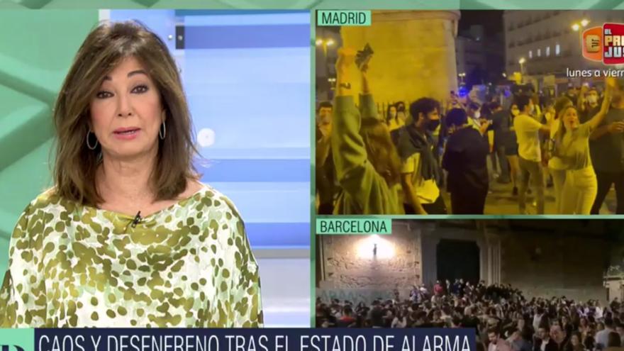 Ana Rosa, contra Pedro Sánchez: «Quan les coses es posen lletges, deixa el país a la deriva»