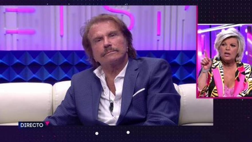 """Telecinco consigue enfrentar en directo a Terelu Campos y Bigote Arrocet: """"A mí no me llames mentirosa"""""""