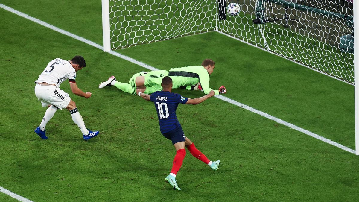 Francia venció a Alemania en su debut en la Eurocopa.