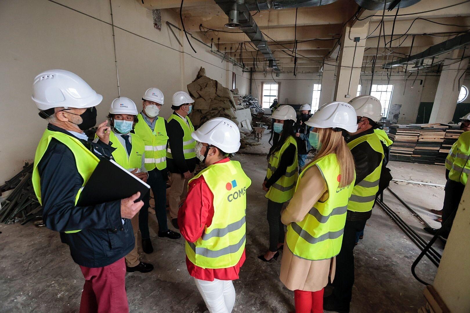 Visita al nuevo edificio de ampliación del Parlamento