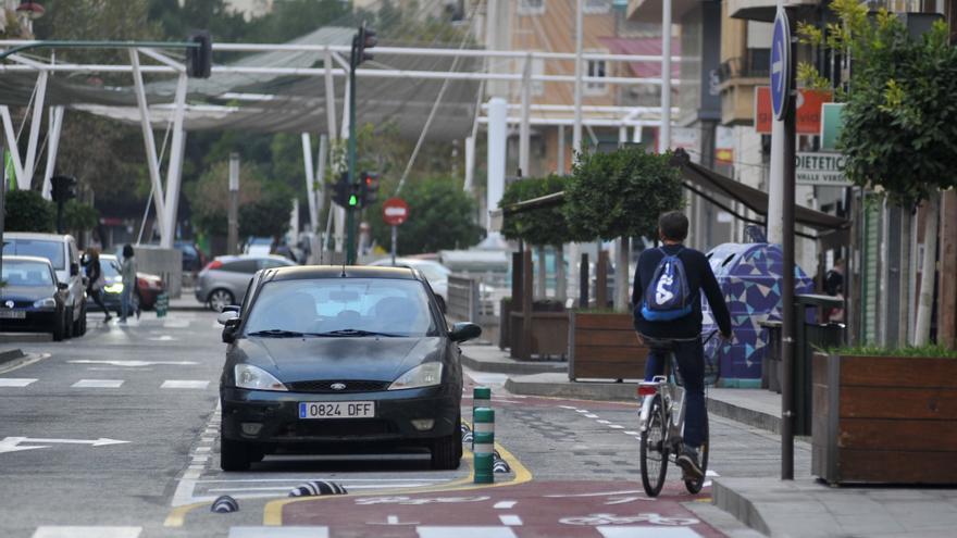 Elche creará 36 puntos más de aparcamiento para bicis